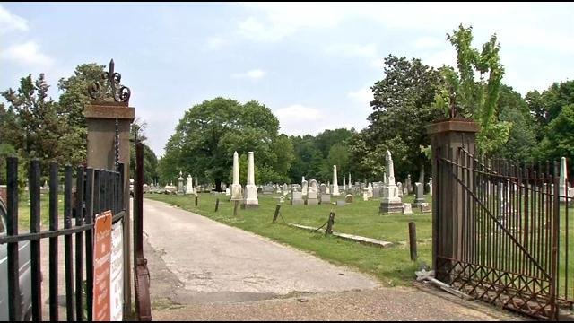 From the outside, Eastern Cemetery appears fine.