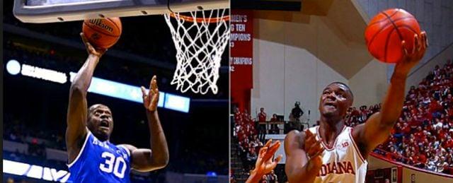 UK freshman Julius Randle (Left) has slipped Noah Vonleh on several NBA mock draft boards.