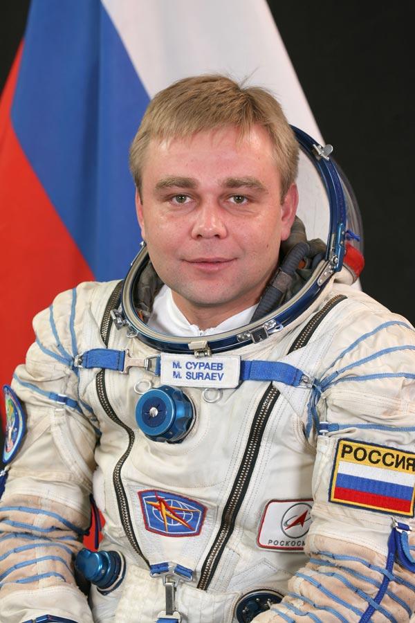 Max Suraev (Russian) (Photo credit: NASA)