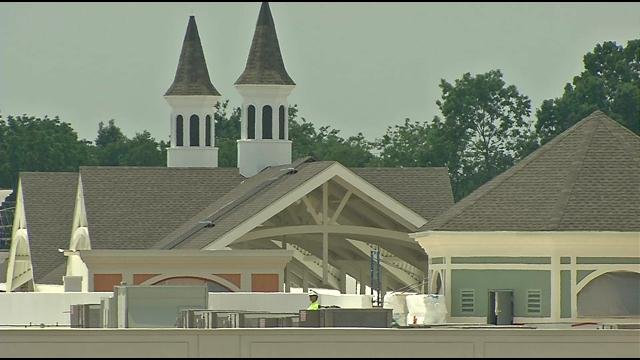 The Outlet Shoppes of the Bluegrass is expanding after only five months in operation and the shops are already bringing new business into Simpsonville.