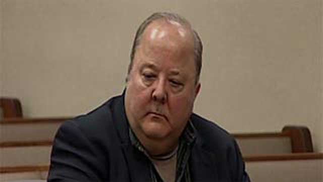 The Rev. James Schook at a court appearance in April.