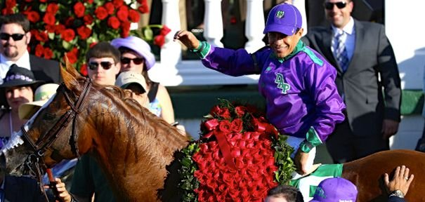 California Chrome will break from the second post position in the Belmont Saturday.