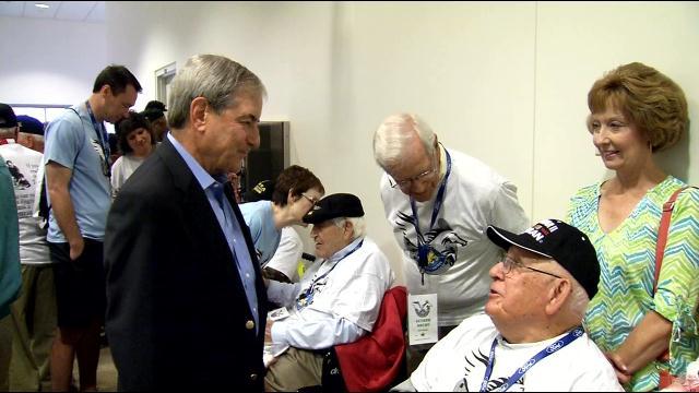 Congressman John Yarmuth says World War II vets have an amazing oral history to tell.