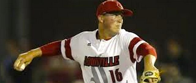 Louisville ace Kyle Funkhouser struggled to throw strikes against Kennesaw State.