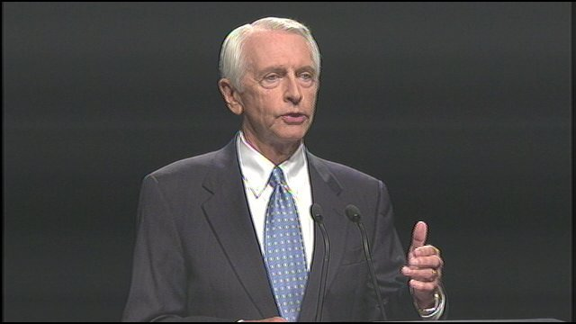 Governor Steve Beshear tweeted a statement Monday evening. Beshear backed offering help to those in need.