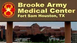 (AP Photo/David J. Phillip). Brooke Army Medical Center is shown Thursday, June 12, 2014, in San Antonio.