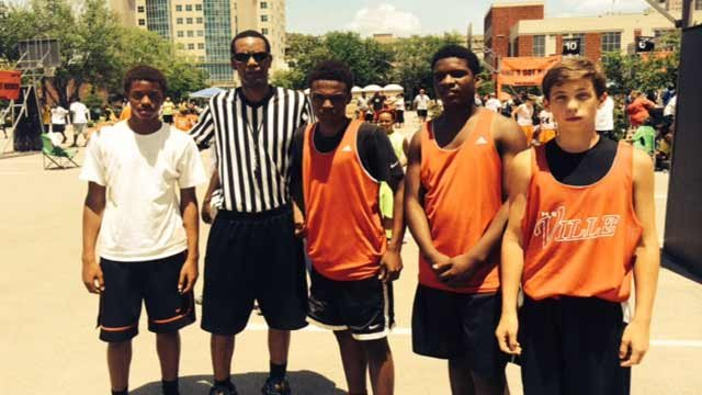 Manuel Forrest took part in WDRB's 3-on-3 Hoop It Up competition on June 21 and 22.