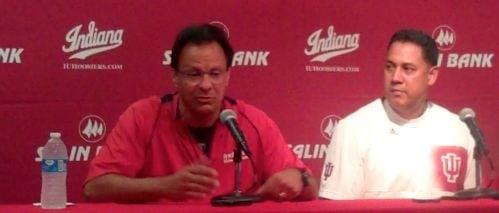 IU coach Tom Crean (left) added Chuck Martin to his staff Monday.