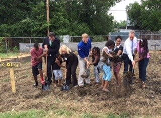 Proceeds from Richie Farmer auction used to plant urban garden in Louisville