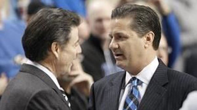 Where do Rick Pitino and John Calipari rank on your list of top college basketball coaches?