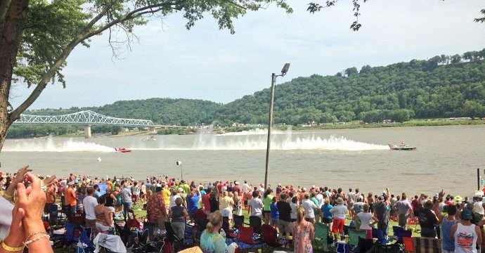 A WDRB file photo from the 2014 Madison Regatta.