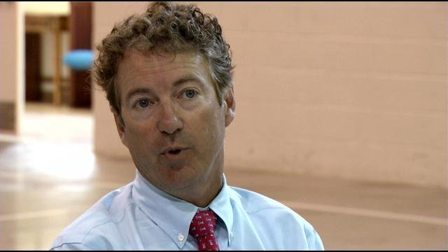 Rand Paul introduced the controversial Arming All Pilots Act on Thursday afternoon (File photo).