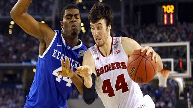 Wisconsin center Frank Kaminsky thinks the Badgers should have beaten Kentucky in the Final Four.