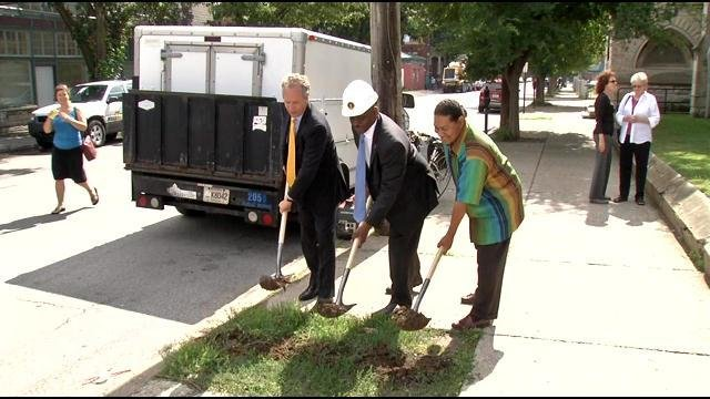 Residents bringing street Improvements to 4th and Oak intersection