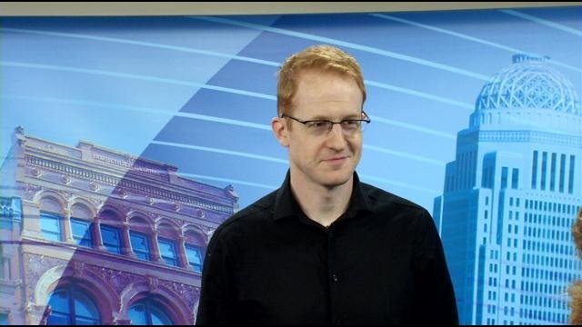 """Steve Hofstetter, host and exec. producer of """"Laughs"""""""