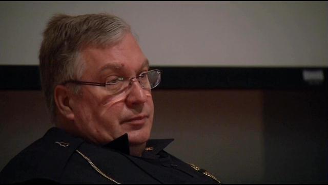 Hodgenville Police Chief Steve Johnson.