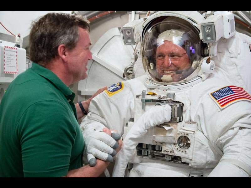 Astronaut Barry Wilmore (Image courtesy: NASA)