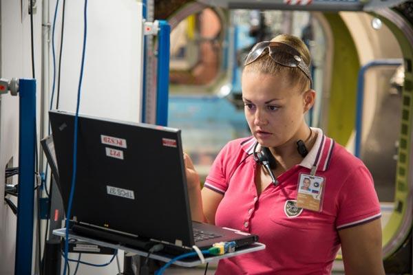 Cosmonaut Elena Serova (Image courtesy: NASA)