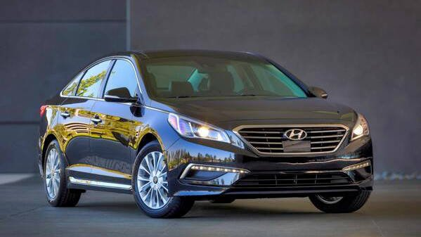 A 2015 Hyundai Sonata. Courtesy: Hyundai. Note: the 2015 model is not affected by the recall.