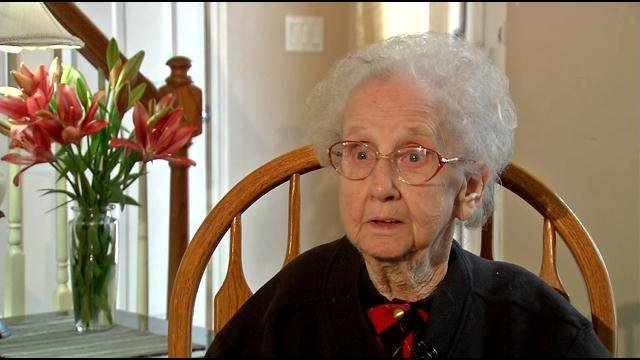 Grandma Betty in an interview with WDRB in March.