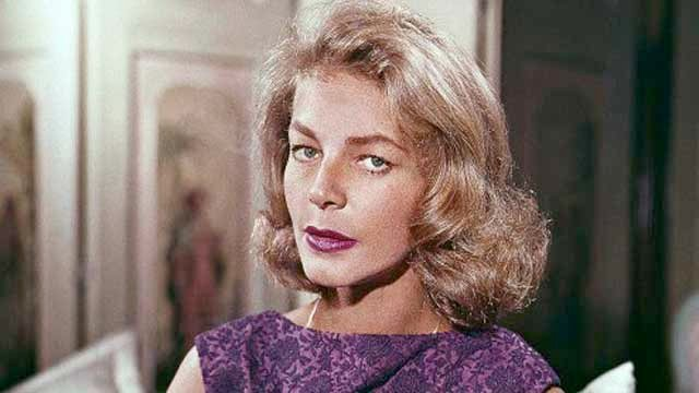 Lauren Bacall died Tuesday at the age of 89.