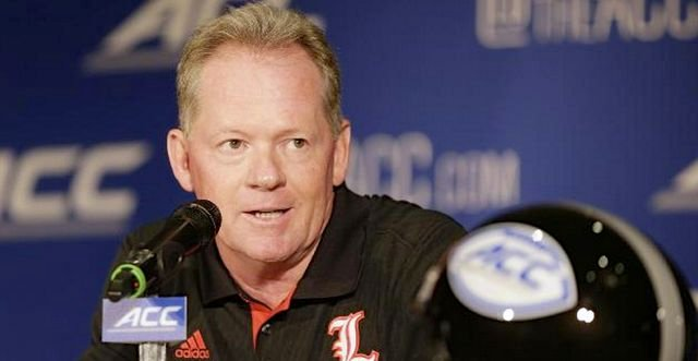 Most pre-season predictions have Bobby Petrino's Louisville team finishing third in the ACC Atlantic Division.