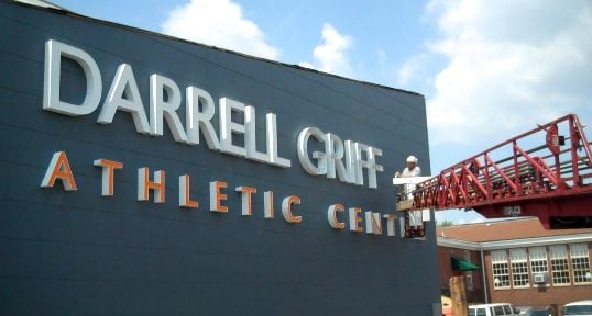 The 13,000-square foot Darrell Griffith Athletic Center will open in September.