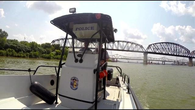 River Patrol will wait under bridges, ready to rescue if there is a possible jumper.