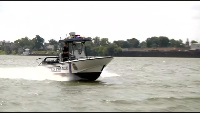 The boats are out for more than just BUI tickets, they patrol over 40 miles of shoreline in the interest of safety.