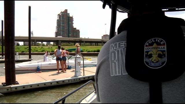 Safety for everyone is the number one concern for LMPD's River Patrol Unit.