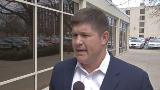 Jesse Benton, McConnell campaign manager who is resigning effective Saturday.