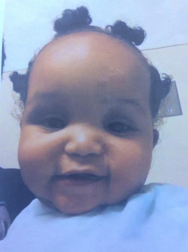 Ne'Riah Miller's family provided this photo of her.