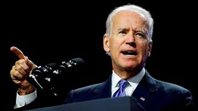 (AP Photo/John Locher, File). FILE - In this Wednesday, July 23, 2014 file photo, Vice President Joe Biden speaks on voting rights at the NAACP annual convention in Las Vegas.