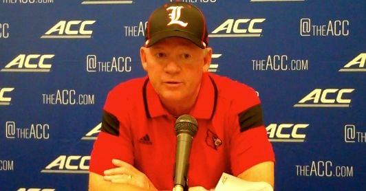 Bobby Petrino's offense failed to score on 11 straight possessions against Virginia.