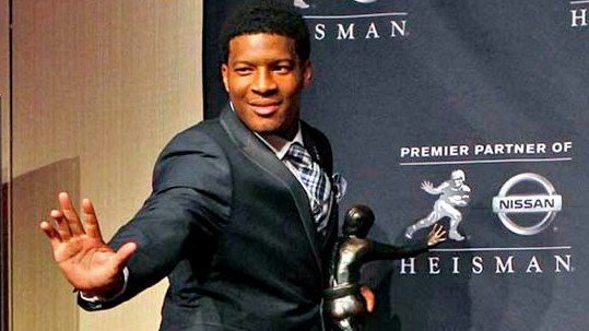 Florida State quarterback Jameis Winston hasn't helped his chances of repeating as the Heisman Trophy winner