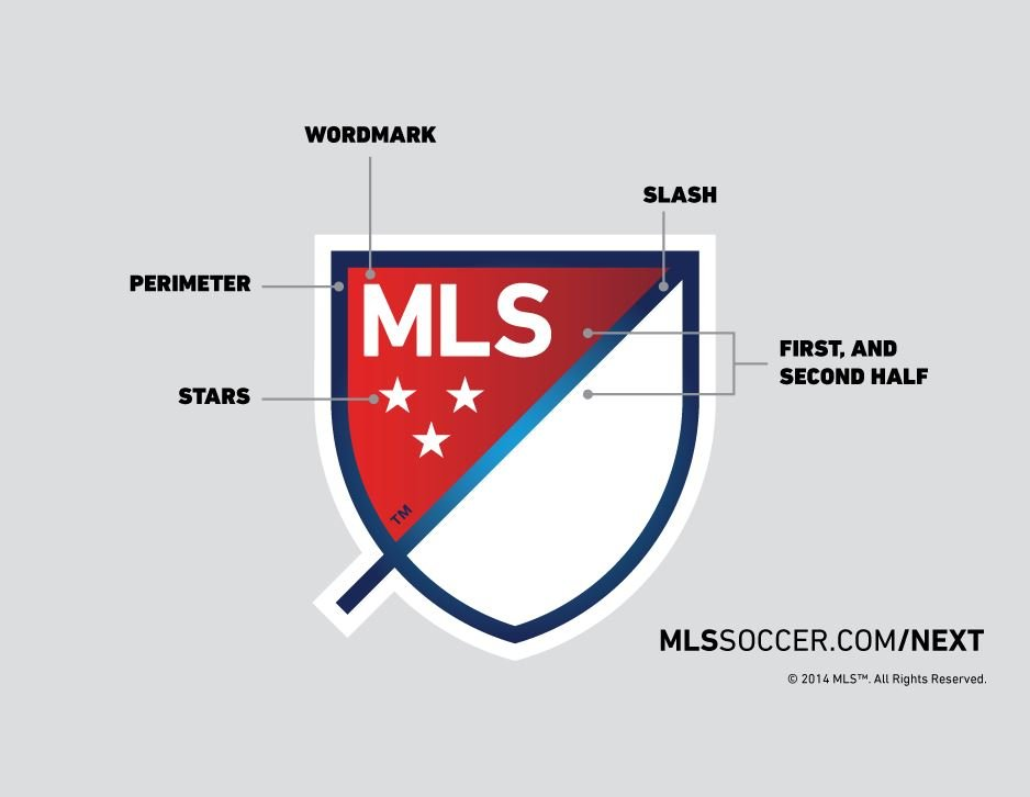 The new MLS Logo unveiled this week as part of the MLS Next re-branding initiative.