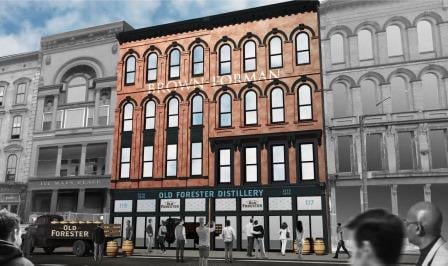 Rendering of the Old Forester distillery from Brown-Forman.