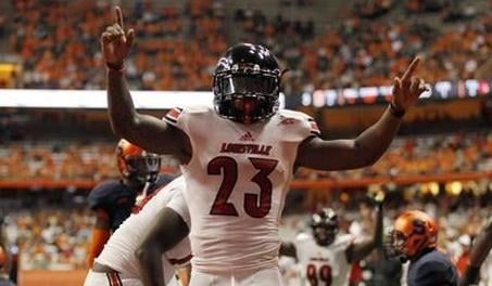 Brandon Radcliff ran for two touchdowns for a second straight game to lead Louisville past Syracuse 28-6.