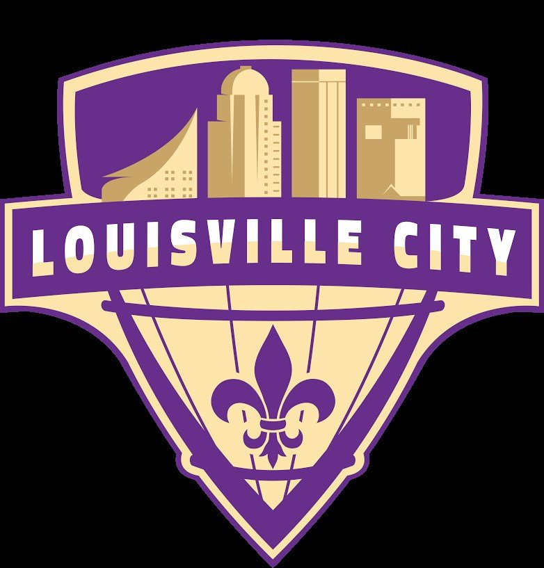 Louisville City FC's logo was designed by Michael Manning of New Albany, Indiana.