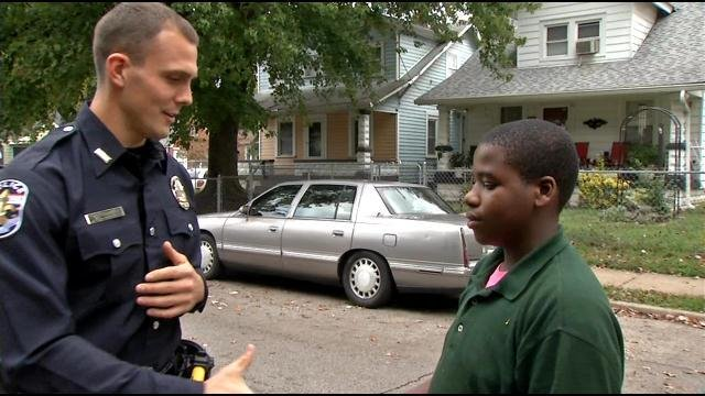 Officer Holland and Anthony Holt.