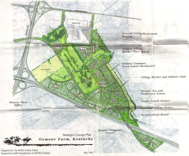 2002 concept plan for Oxmoor Farm
