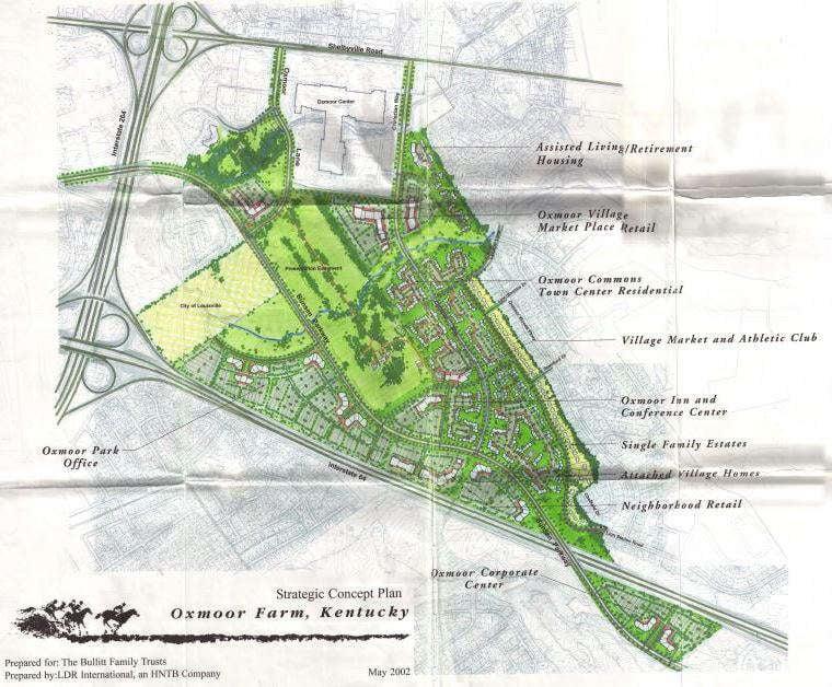 2002 concept plan for Oxmoor Farm