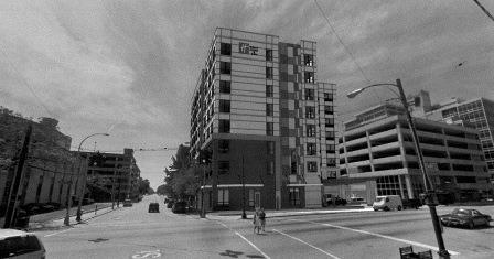 rendering of Holiday Inn, via Louisville Metro Planning and Design