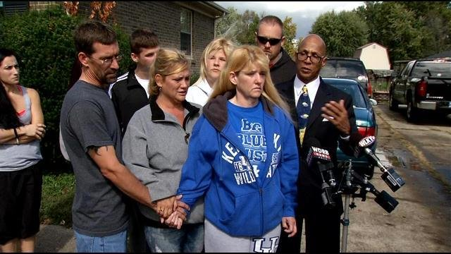 Esterday's family speaks to the media, pleading for answers.