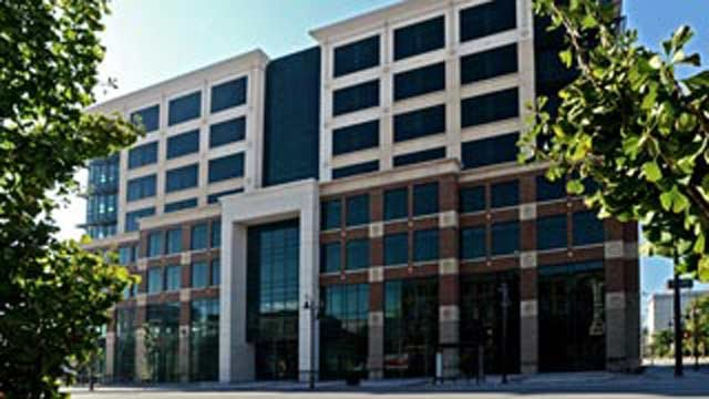 The ElderServe company is headquartered in the Nucleus building in downtown Louisville.