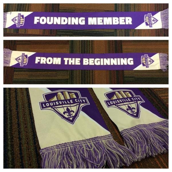 One of the perks Louisville City FC will give away to founding members.