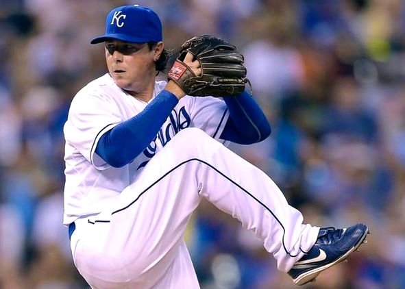 Former UK pitcher Scott Downs finally made it to the World Series in his World Series in his 13th big-league season.