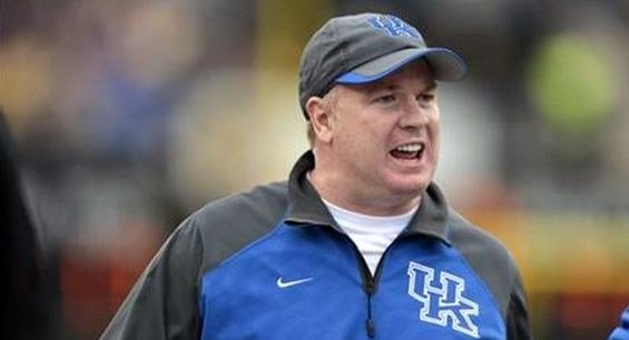 Mark Stoops has Kentucky three games ahead of its pace from 2013.