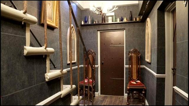 One of the 'wizard's chambers' at the Georgian House in London.