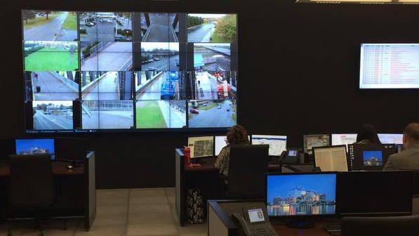 Inside LMPD's Real Time Crime Center analysts monitor cameras and work to provide updated information to police in the field.
